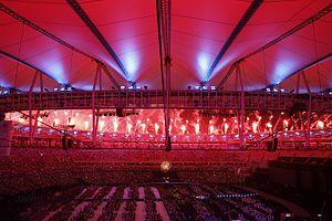 2016 Summer Paralympics closing ceremony - Image: Cerimônia de encerramento dos Jogos Paralímpicos Rio 2016 (29484526760)
