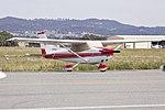 Cessna 172N Skyhawk II (VH-SHU) parked on the tarmac at Wagga Wagga Airport.jpg