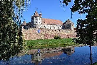 Făgăraș - Image: Cetatea Fagaras panoramio Andrei Dan Suciu