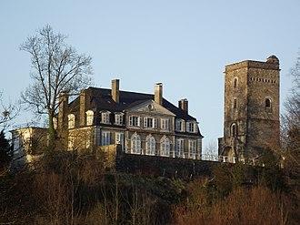 Coarraze - The château of Coarraze
