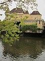 Château de Losse - Vue depuis la Vézère 02.JPG