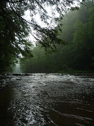 Cleveland Metroparks - Image: Chagrin river at south chagrin reservation