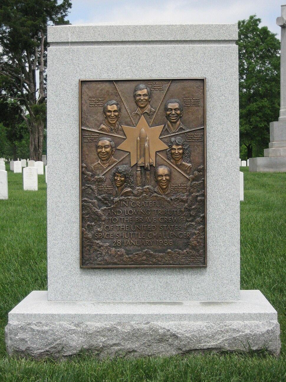 Challenger Memorial1