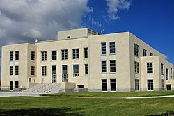 The Chambers County Courthouse in Anahuac