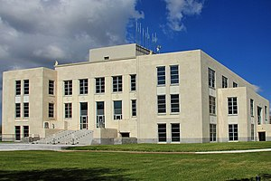 National Register of Historic Places listings in Chambers County, Texas - Image: Chambers county tx courthouse 2014