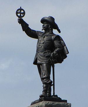 Hamilton MacCarthy - Image: Champlain statue, Nepean Point, Ottawa