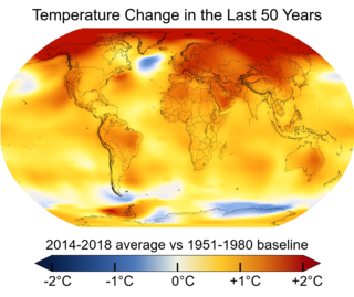 Global warming Current rise in Earths average temperature and its effects