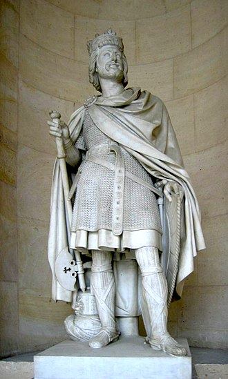Charles Martel - 19th-century sculpture at the Palace of Versailles