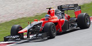 Marussia MR01 racing automobile