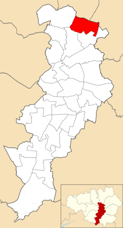 Charlestown electoral ward within Manchester City Council