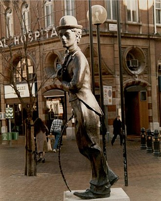 Statue of Charlie Chaplin, London - Image: Charlie Chaplin geograph.org.uk 907982