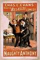 Chas. E. Evans in David Belasco's comedy, Naughty Anthony LCCN2014636669.tif