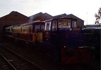 Chasewater Railway - A selection of diesel locomotives participating in the 2007 Diesel Gala.