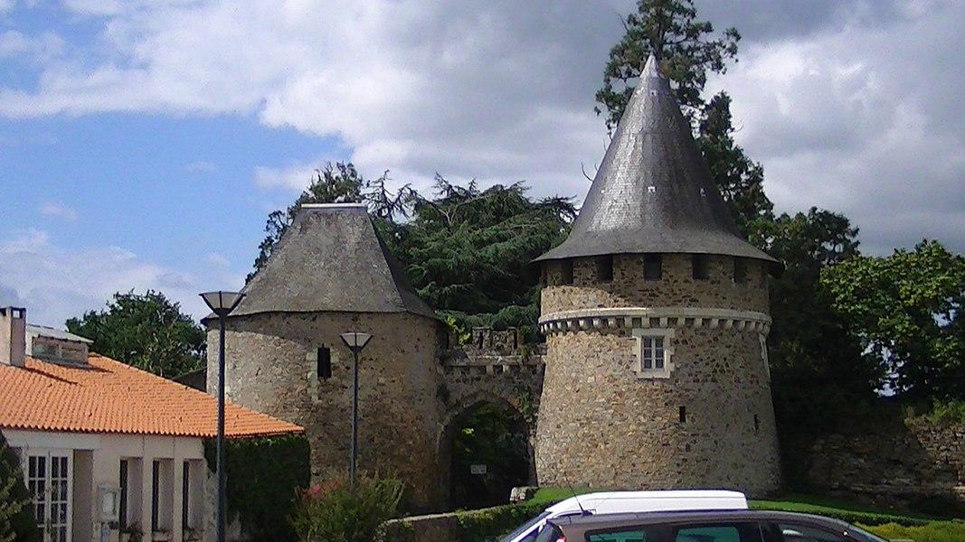 Entrance to the Chateau de Champtoceaux