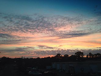 Chatham, Massachusetts - Sunset in Chatham