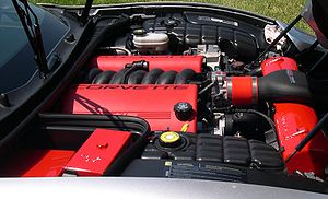 LS based GM small-block engine - GM LS6 engine in a Chevrolet Corvette Z06