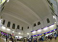 Chiayi Station, main hall, fisheye view (Taiwan).jpg