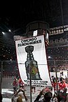 Chicago Blackhawks Stanley Cup Banner Ceremony (5104270658).jpg