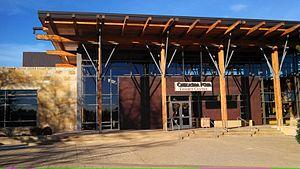 Chickasaw Cultural Center - Chickasaw Cultural Center museum building