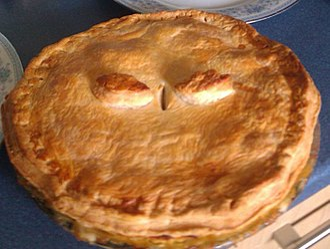 Meat pie - A chicken pie