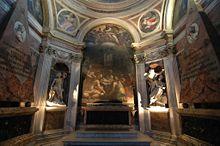 View of the Chigi Chapel (Source: Wikimedia)