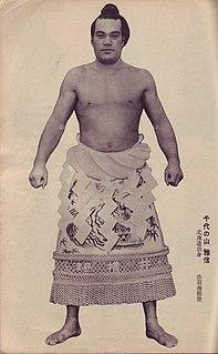 Chiyonoyama Masanobu Sumo wrestler