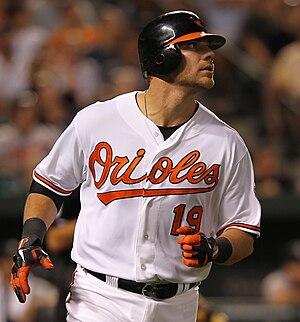 Chris Davis (baseball) - Davis with the Orioles in 2011