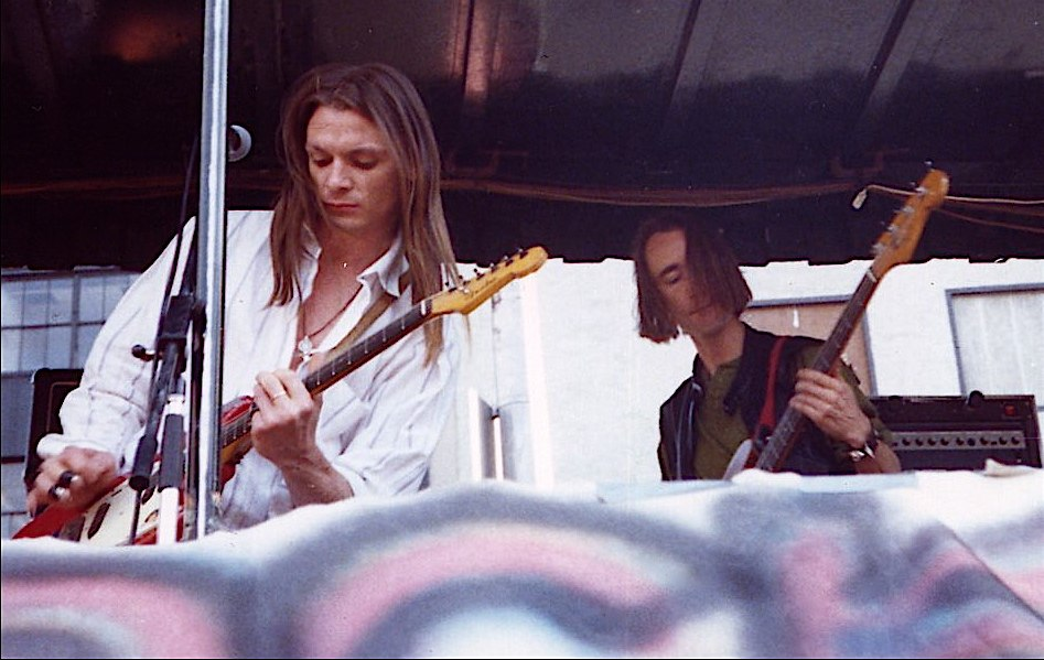 Chris Whitley and Alan Geveart