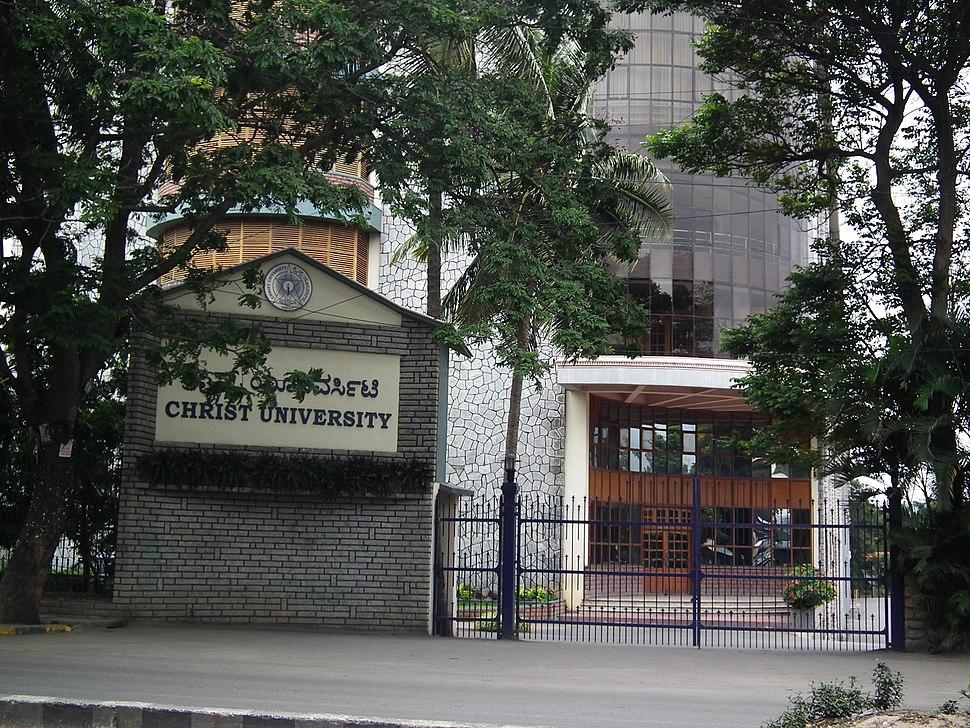 Christ University Hosur road Bangalore 4819
