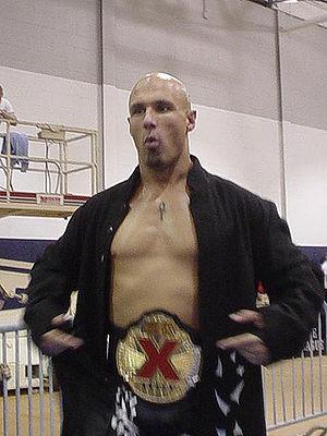 Sacrifice (2005) - Image: Christopher Daniels X Division Champion