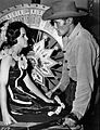 Chuck Connors Beverly Englander The Rifleman 1961.JPG