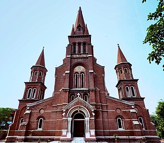 Christianity in Pakistan - Sacred Heart Cathedral, Lahore