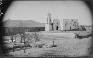 Church in Juarez, Mexico - NARA - 516966