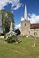 Church of St Mary churchyard - view of monument.jpg