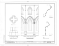 Church of the Ascension, Fifth Avenue and Tenth Street, New York, New York County, NY HABS NY,31-NEYO,95- (sheet 8 of 12).png