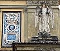 Cimitero dall'antella, arco monumentale dell'ingresso, sculture di amalia duprè 03.JPG