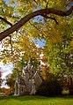 """Cincinnati - Spring Grove Cemetery & Arboretum """"Robinson Mausoleum in Autumn"""" (4143512634).jpg"""