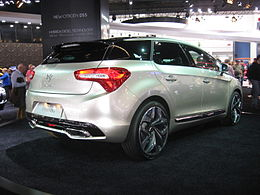 Citroën DS5 Rear.JPG