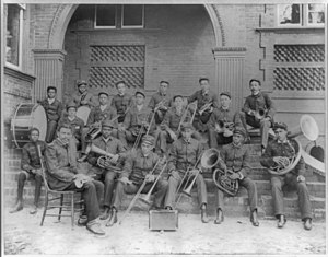 Claflin University - 1900 band, Claflin College