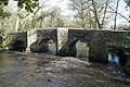 Clapper Bridge - upstream side - geograph.org.uk - 709904.jpg