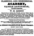 Classical and Commercial Academy, Castle Donington.jpg