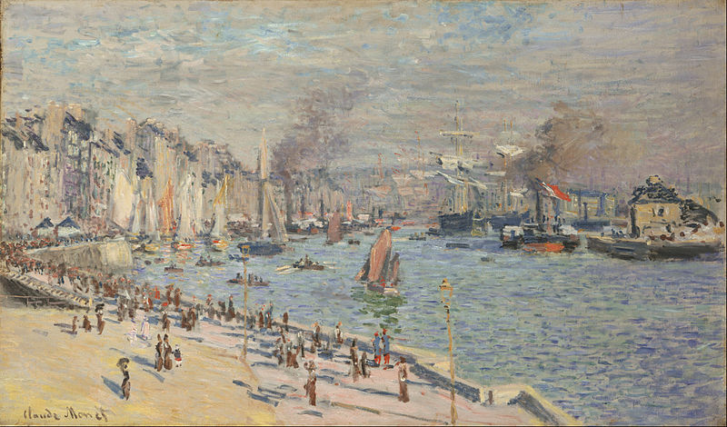 پرونده:Claude Monet, French - Port of Le Havre - Google Art Project.jpg