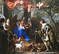 Claudio Coello - Virgin and Child Adored by St Louis, King of France - WGA5135.jpg