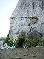 Cliff slip at Dumpton - geograph.org.uk - 204646.jpg
