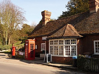 Clifton Hampden - The sub-post office and village shop