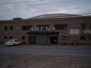 Clinton Arena - The Clinton Arena in 2004