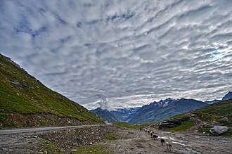 Rohtang Pass - A view from Rohtang Pass