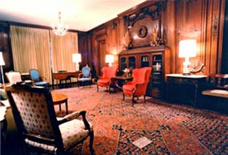 Thyrsa Amos - The Braun Room in the Cathedral of Learning.