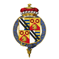 Coat of Arms of Philip Lever, 3rd Viscount Leverhulme, KG, TD.png