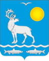 Coat of arms of Malozemelski selo of Nenetsia.png